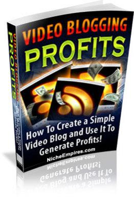 Product picture  Video Blogging Profits